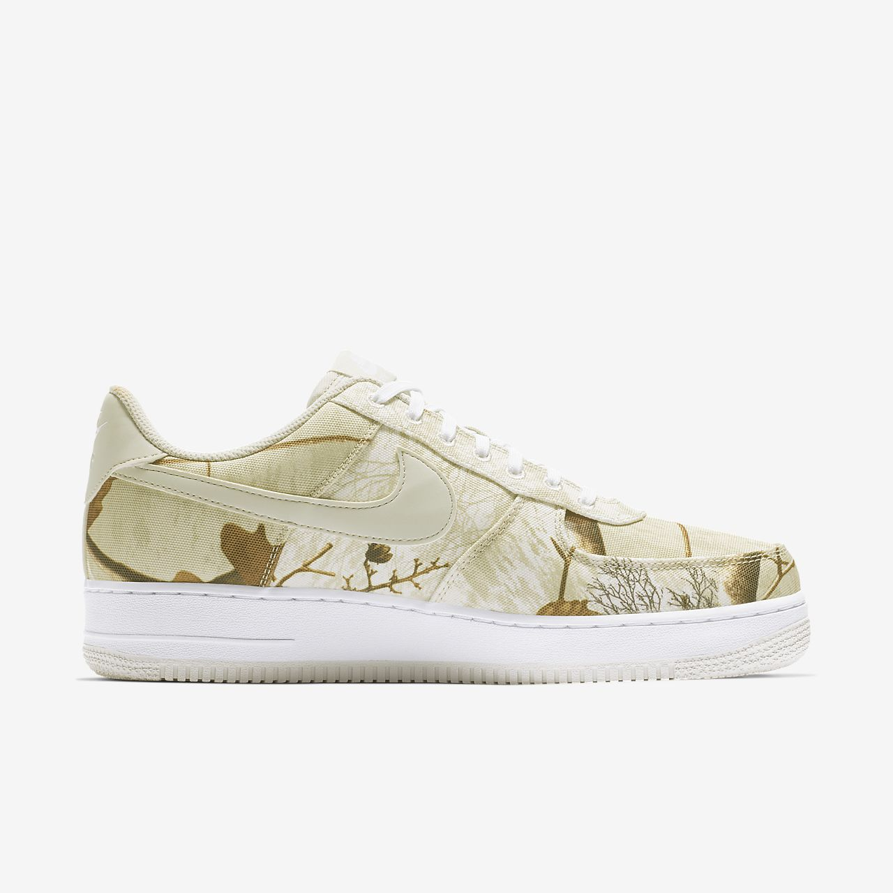Tenis Nike Air Force 1 '07 LV8 3 Realtree® Masculino Branco/Luz | Pt-33277