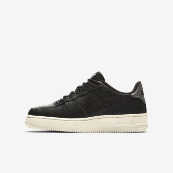 Tenis Nike Air Force 1 Premium Embroidered Menino Pretas/Branco | Pt-94609